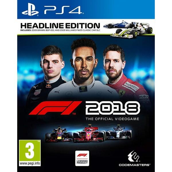 F1 2018 (Megjelenés 2018. 08. 24.)