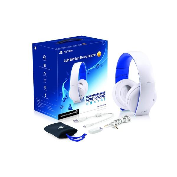 Sony Playstation 4 Wireless Stereo Headset 2.0 White (Virtual Sound 7.1) (Fehér)