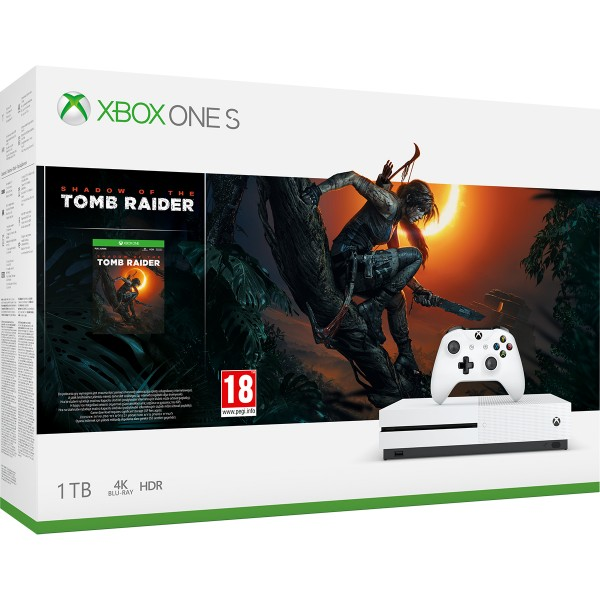 Xbox One Slim 1TB + Forza Horizon 3