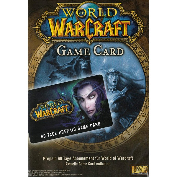 World of Warcraft Gamecard