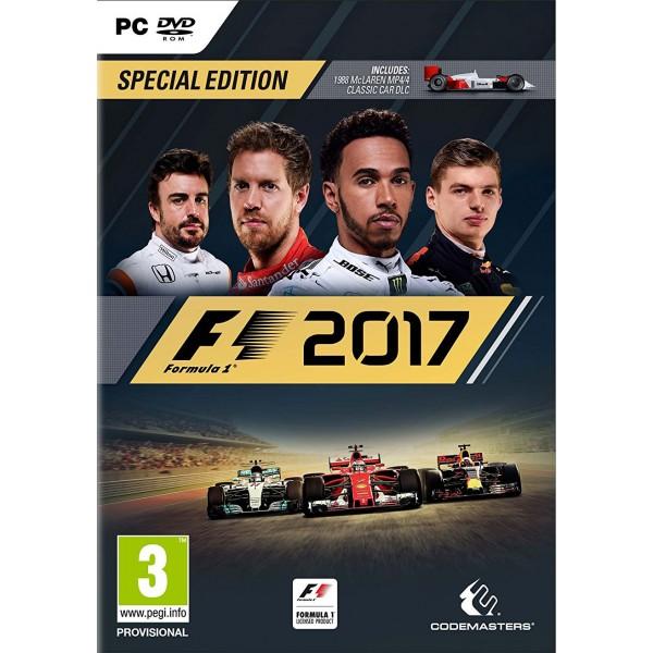 F1 2017 Special Edition (Előrendelhető) Megjelenés: 2017. 08. 25.
