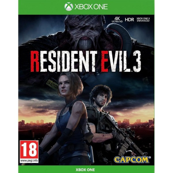 Resident Evil 3 Remake (Megjelenés: 2020. 04. 03.)