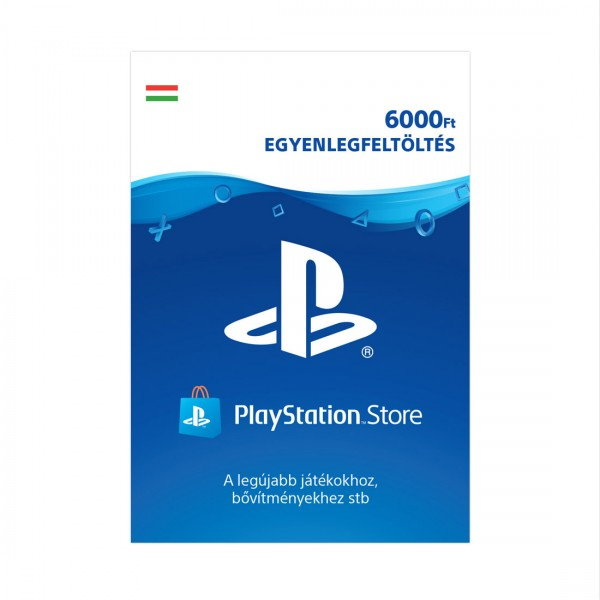 Playstation Network 6000 (HUF)