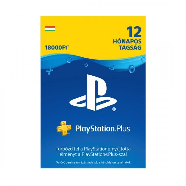 Playstation Plus 12 Hónapos tagság (Magyar Profilhoz)