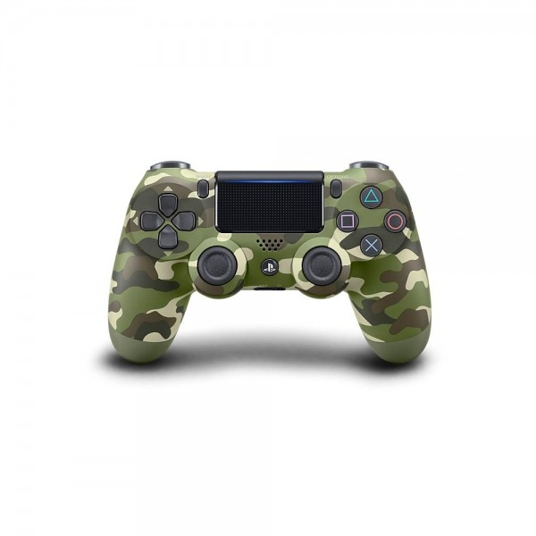 Playstation (PS4) Dualshock 4 Wireless Kontroller Green Camouflage (Terepszínű)