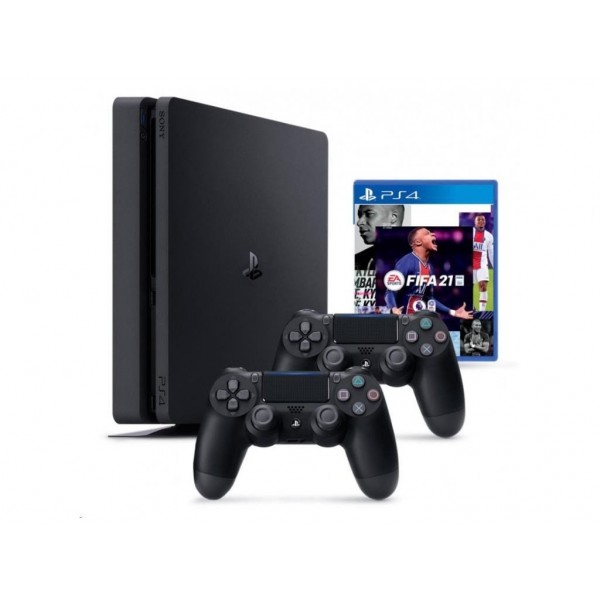 Playstation 4 (PS4) Slim 1TB + Dualshock 4 Kontroller