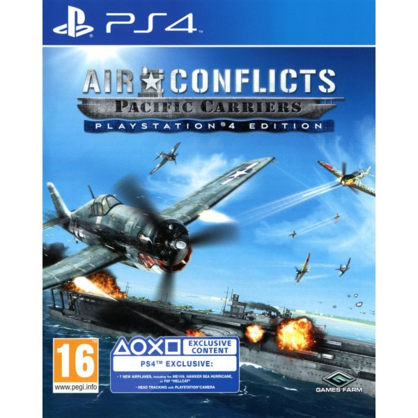 Air Conflicts Pacific Carriers PS4 Edition