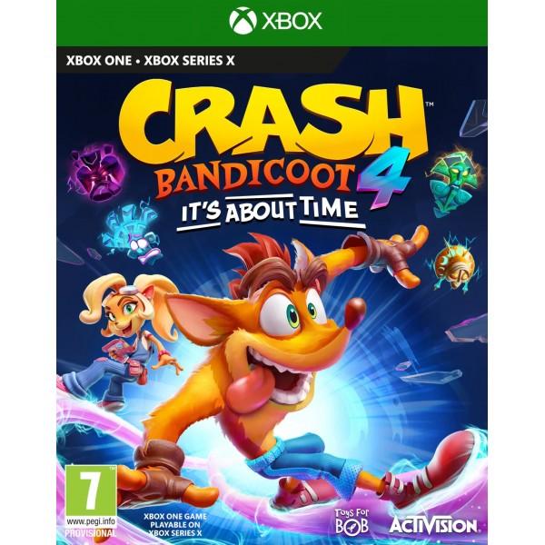 Crash Bandicoot 4 It's About Time (Megjelenés: 2020. 10. 02.)