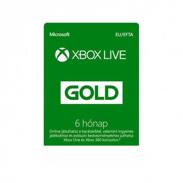Xbox Live Gold 3 hónapos tagság