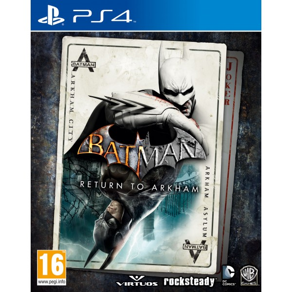 Batman Retrun to Arkham