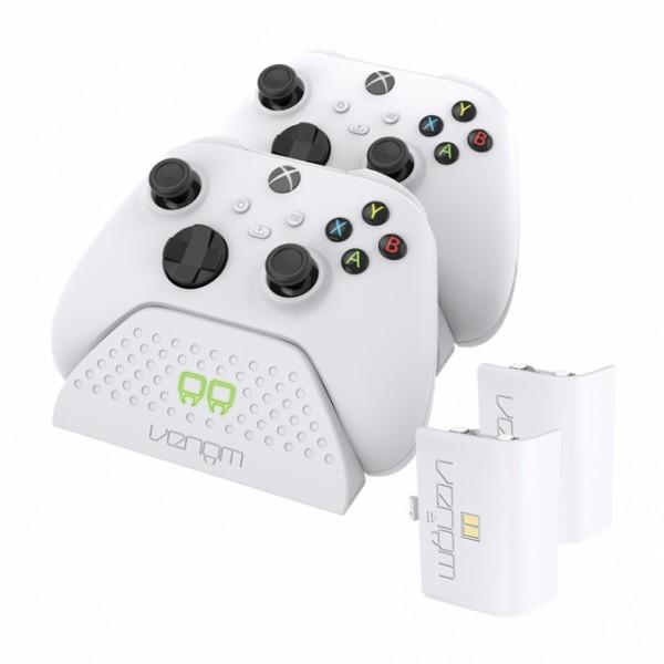 VENOM VS2881 Xbox Series S & X fekete dupla töltőállomás + 2 db akkumulátor