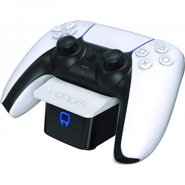 VENOM VS5001 PS5 fehér dupla töltőállomás PS5