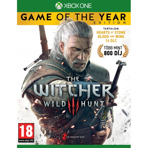 The Witcher 3 Wild Hunt Game of the Year Edition (Magyar felirattal)