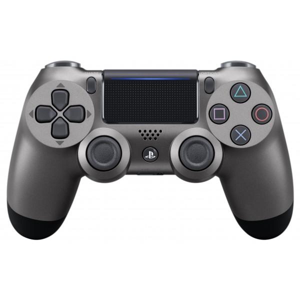 Playstation (PS4) Dualshock 4 Wireless Kontroller Steel Black (Acél szürke)
