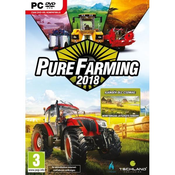 Pure Farming 2018 (Magyar Felirattal)